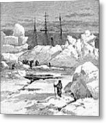 Jeannette Expedition Metal Print
