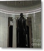 Jefferson In The Dark Metal Print
