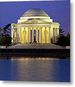 Jefferson Memorial Metal Print