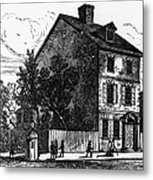 Jeffersons House, 1776 Metal Print