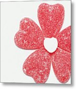 Jelly Candy Heart Flower 1 Metal Print