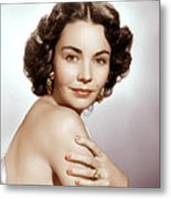 Jennifer Jones, Ca. Early 1950s Metal Print by Everett