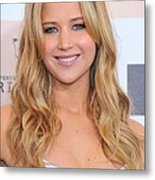 Jennifer Lawrence At Arrivals For 2011 Metal Print