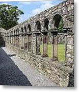 Jerpoint Abbey Arches Metal Print