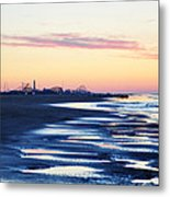 Jersey Shore Sunrise Metal Print