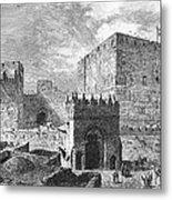 Jerusalem: Citadel Metal Print
