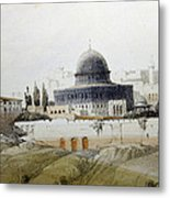 Jerusalem Close Up Metal Print