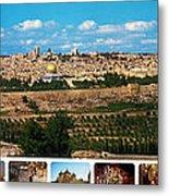 Jerusalem Poster Metal Print