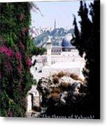 Jerusalem Throne Of Yahweh Metal Print