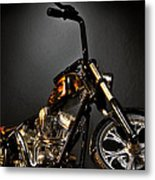 Jesse James Bike 2 Detroit Mi Metal Print