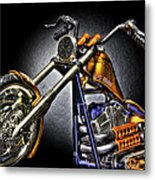 Jesse James Bike Detroit Mi Metal Print