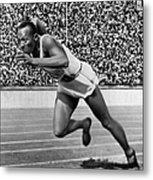 Jesse Owens (1913-1980) Metal Print by Granger