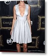 Jessica Lowndes At Arrivals For Jessica Metal Print