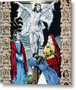 Jesus Christ, The Crucifixion, Hand Metal Print