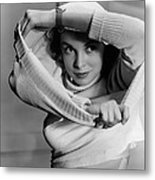 Jet Pilot, Janet Leigh, 1950, Released Metal Print by Everett