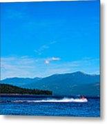 Jet Ski On Priest Lake Metal Print