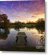 Jetty Sunrise 4.0 Metal Print