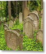 Jewish Town Tombs In The Jewish Cemetery Metal Print