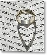 Jewish Wedding Concept  Metal Print by Shay Levy