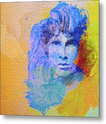 Jim Morisson Metal Print