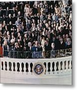 Jimmy Carters 1976 Inauguration Metal Print by Everett