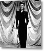 Joan Crawford, Ca. 1940s Metal Print by Everett