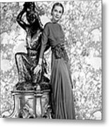 Joan Fontaine Metal Print by Everett