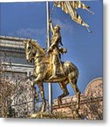 Joan Of Arc Statue New Orleans Metal Print