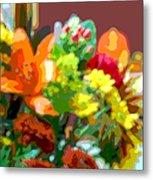 Joannes Flowers Metal Print