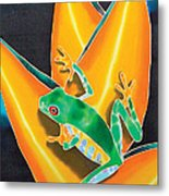 Joe's Treefrog Metal Print