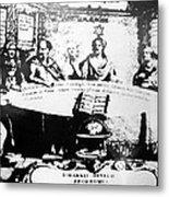 Johannes Hevelius, Polish Astronomer Metal Print