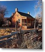 John And Ellen Wood Home Metal Print