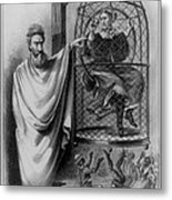 John Brown Exhibiting His Hangman, 1863 Metal Print by Photo Researchers
