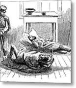 John Browns Raid, 1859 Metal Print