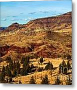 John Day Blue Basin Metal Print