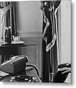 John F. Kennedy 1917-1963 And Theodore Metal Print by Everett