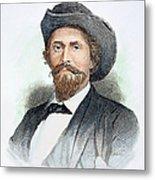 John H. Morgan (1825-1864) Metal Print