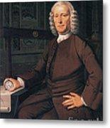 John Harrison, English Inventor Metal Print by Photo Researchers