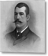 John L. Sullivan Metal Print