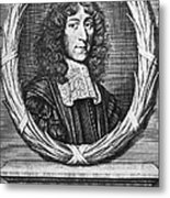 John Mayow (1640-1679) Metal Print