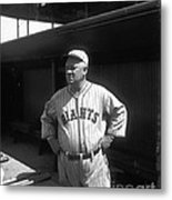 John Mcgraw -  New York Giants Metal Print by David Bearden