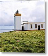 John O Groats Lighthouse Metal Print