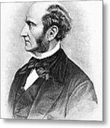 John Stuart Mill Metal Print