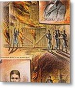 John W.booth (1835-1865) Metal Print