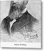 John Wesley Powell Metal Print