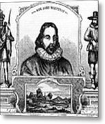 John Winthrop, English Puritan Lawyer Metal Print by Photo Researchers
