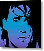 Johnny As Edward Metal Print