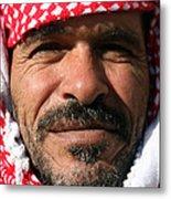 Jordanian Man Metal Print