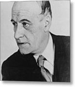 Jos� Ortega Y Gasset 1883-1955, Spanish Metal Print