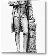 Joseph Priestley (1733-1804) Metal Print
